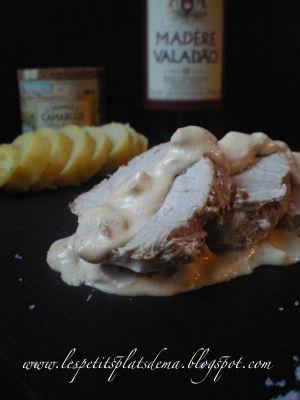Recette Filet mignon de porc au madère