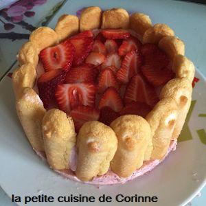 Recette Charlotte à la mousse de fraises