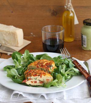 Recette Frittata sicilienne avec tomates et basilic