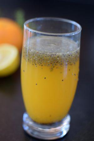 Recette Chia fresca à l'orange