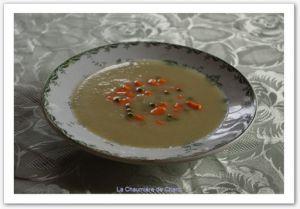 Recette Creme de fenouil