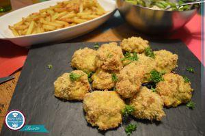 Recette Nuggets maison aux champignons