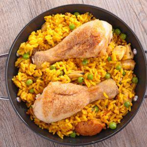 Recette Cuisse de poulet au riz Cookeo