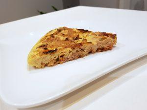 Recette Frittata au thon et piperade