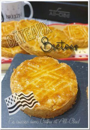 Recette Gâteaux Bretons individuels (All-Clad)