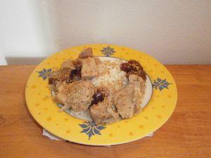 Recette Tajine de veau aux dattes et au sésame