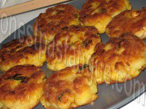 Recette Croquettes de maïs
