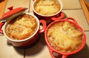 Recette Onion Soup - Soupe a l'oignon
