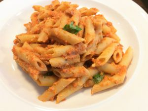 Recette Sauce pour pâtes la plus rapide qui soit, protéines comprises