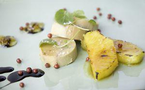 Recette Foie gras à la confiture d'oignons