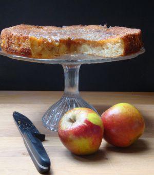 Recette Gâteau aux pommes et à la fève Tonka