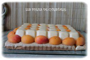 Recette Entremets abricots