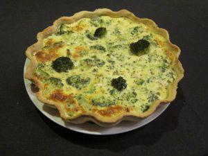 Recette Quiche saumon brocolis