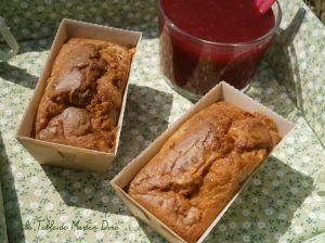 Recette P'tits cakes au bleu des Causses, noix et miel de pissenlits {végétariens}