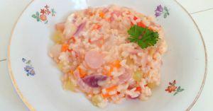 Recette Risotto aux crudités (Raw vegetables risotto)