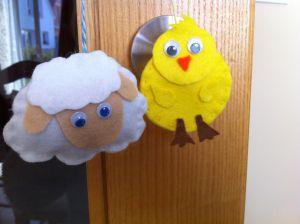 Recette Suspension mouton/nuage et poussin