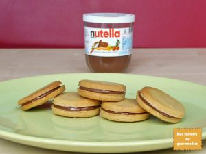 Recette Sablés au Nutella