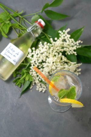 Recette Cocktail Hugo parce qu'il y a un après Pimm's ou Spritz et qu'il est à base de sirop à la fleur de sureau