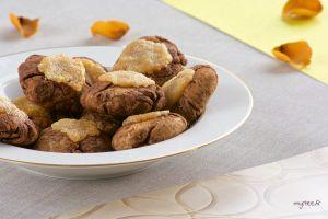 Recette Des biscuits chocolat et citron (vegan)
