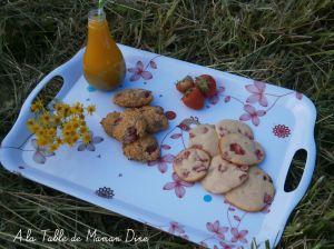 Recette Fraisy Cookies Végan or not Végan