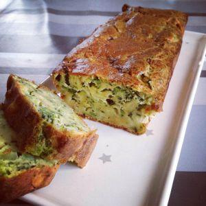 Recette Cake courgettes & brocolis