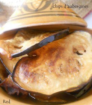 Recette Chips d'aubergines