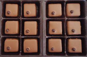 Recette Chocolats fins : praliné et pâte d'amandes