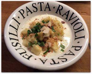 Recette Gnocchi à la crème de parmesan