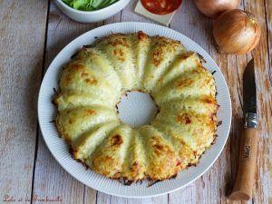 Recette Gâteau de pommes de terre & chorizo