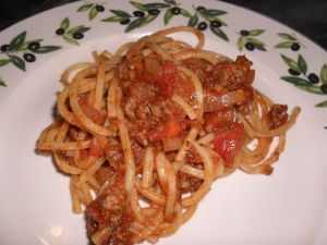 Recette Pate sauce italienne