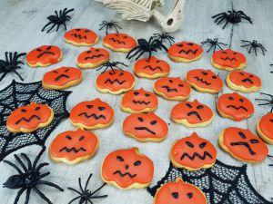 Recette Sablés à l'orange [ Halloween ]
