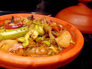 Recette Tajine shakshuka  (et keftas de légumes râpées et lentilles)