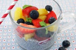 Recette Chia pudding aux fruits