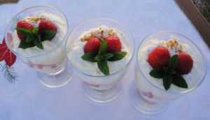 Recette Coupelles fraises mascarpone speculoos