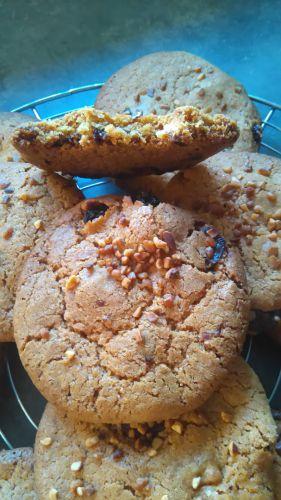 Recette Cookies chocolat raisin