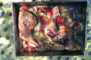 Recette Cuisse de poulet provençale