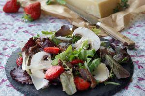 Recette Salade très gourmande aux gésiers de canard en persillade