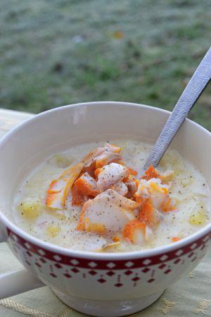 Recette Cullen skink (soupe écossaise au haddock)