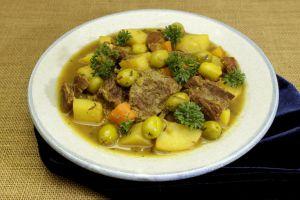 Recette Veau aux olives