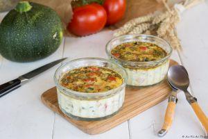 Recette Mini-Frittata aux légumes du soleil