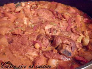 """Recette Rouelle de Porc façon """"Couscous"""""""