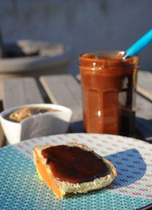 Recette Pâte à tartiner praliné chocolat
