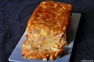 Recette Gâteau moelleux aux pommes léger cannelle