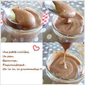 Recette Pâte à tartiner Maison ChocoPraliné & Amandes