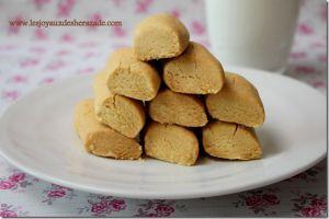 Recette Ghribia tunisienne / Ghribia à la farine de pois chiches