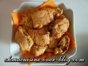 Recette Biscuits aux amandes et dattes