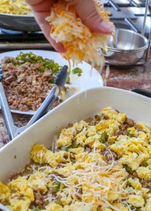 Recette Enchiladas de petit déjeuner   Reglisse et marmelade.com