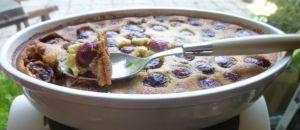 Recette Clafoutis aux cerises et fève tonka