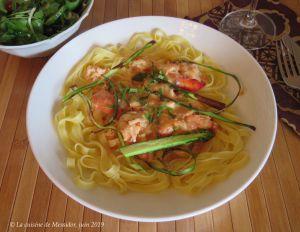 Recette Tagliatelles au homard, prise 2