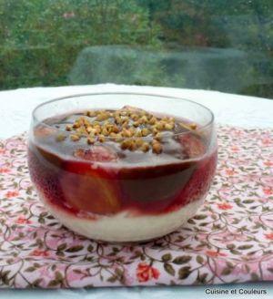 Recette Verrine de figues au chocolat